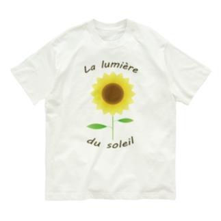 太陽の輝き Organic Cotton T-shirts