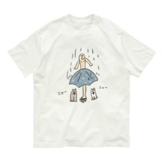 雨宿り Organic Cotton T-shirts