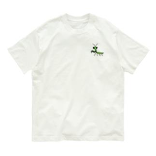 カマキリmini Organic Cotton T-shirts