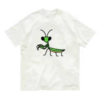 カマキリ Organic Cotton T-shirts