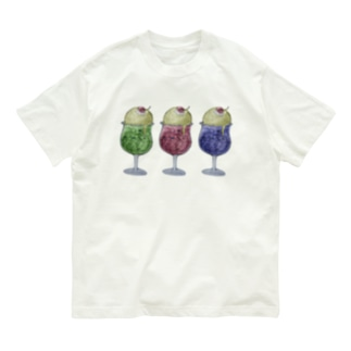 ねこねこカラフルクリームソーダ Organic Cotton T-shirts