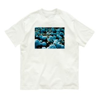 アジサイ Organic Cotton T-shirts