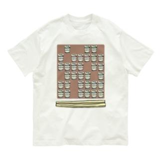 カップ麺テトリス Organic Cotton T-shirts