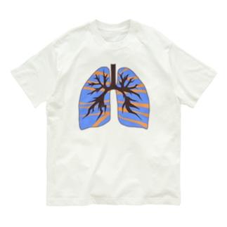 私の肺はヨーヨーの影響を受けています Organic Cotton T-shirts