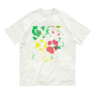 保護犬足跡柄グッズ Organic Cotton T-Shirt