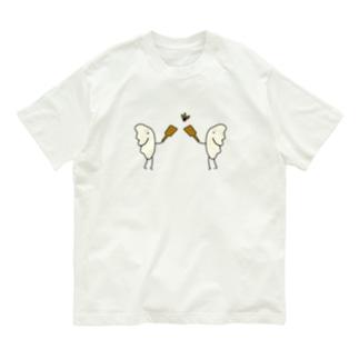 羽根つき餃子 Organic Cotton T-shirts