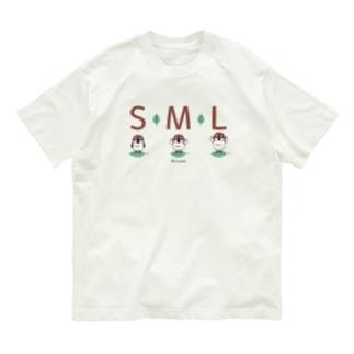 ML001 SMLTシャツのスズメがちゅん Organic Cotton T-Shirt