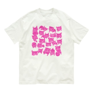 FB LOVE T ピンク Organic Cotton T-shirts