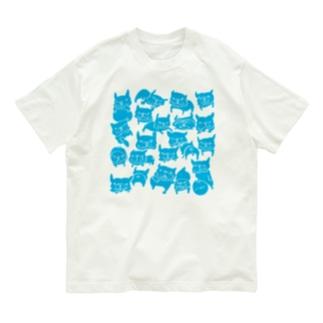 FB LOVE T ブルー Organic Cotton T-shirts