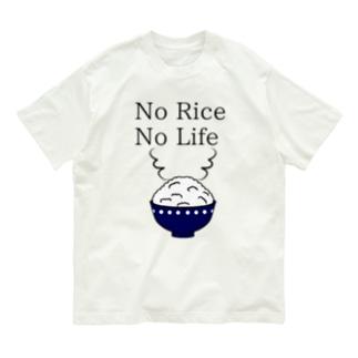 No Rice No Life Organic Cotton T-Shirt