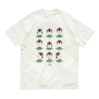 CT175 スズメがちゅん*体操ちゅん* Organic Cotton T-Shirt