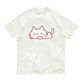 ごろごろにゃーくん Organic Cotton T-shirts