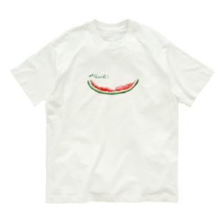 ゴチ★完食スイカ♪ Organic Cotton T-Shirt