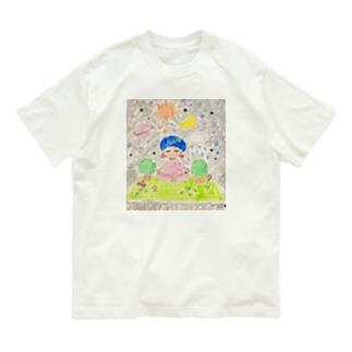 そらとぶヨガマット Organic Cotton T-shirts