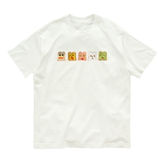 顔パン Organic Cotton T-Shirt