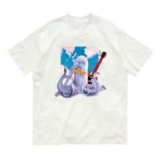 ロックタコ少女(B02)002  Organic Cotton T-Shirt