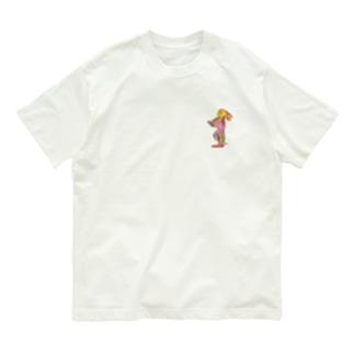 たそがれウサギ2匹目 Organic Cotton T-shirts