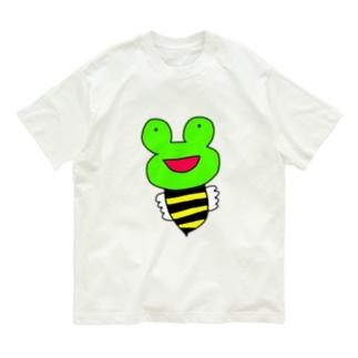 ミツバチ蛙 Organic Cotton T-shirts