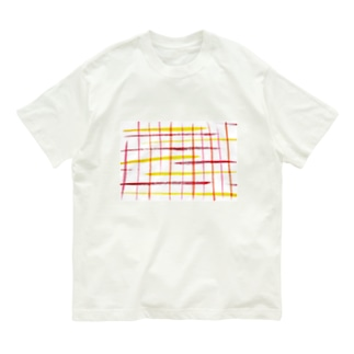 チェックR Organic Cotton T-shirts