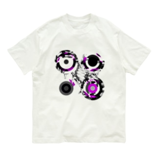 #16 A day in Asia 20210711 RecursiveCompoundDigitalMicroscope version Organic Cotton T-shirts