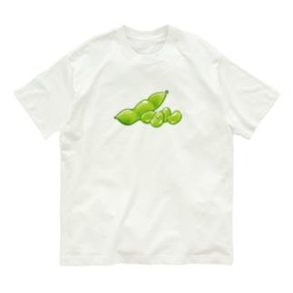 榎木ゆきのにくらしいえだまめ その2 Organic Cotton T-shirts