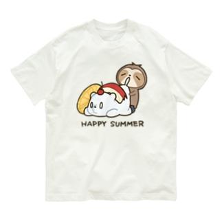 しろくまおいしい Organic Cotton T-shirts