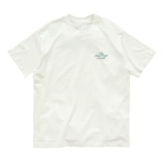 No Choco Mint No Life ワンポイント Organic Cotton T-shirts