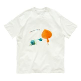 ココロのうつわ (メッセージ付き) Organic Cotton T-shirts