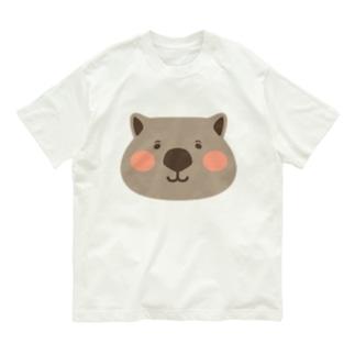 ウォンバットの大きな顔 Organic Cotton T-Shirt