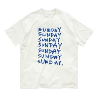 """ SUNDAY,SUNDAY "" Organic Cotton T-shirts"
