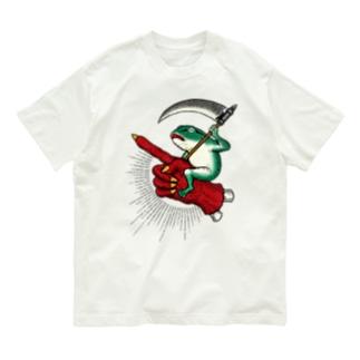 BRUTAL FROG ARMY 蛙ライダー Organic Cotton T-shirts