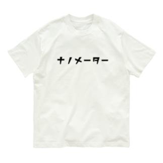 nanometerのnanometer『katakana』オーガニックコットンTシャツ Organic Cotton T-Shirt