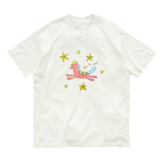 上手くいくおうまさん Organic Cotton T-shirts