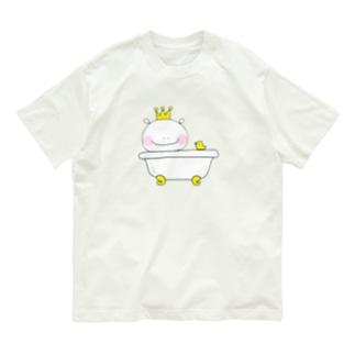 おうさまくんお風呂 Organic Cotton T-shirts