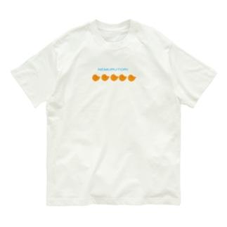 よく見たらねむるとり Organic Cotton T-shirts