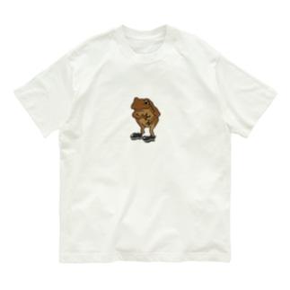 カエル(フォーマル) Organic Cotton T-shirts