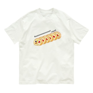 ロールケーキ Organic Cotton T-shirts