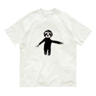 逆手(左手)で描いたぺれぞう Organic Cotton T-shirts