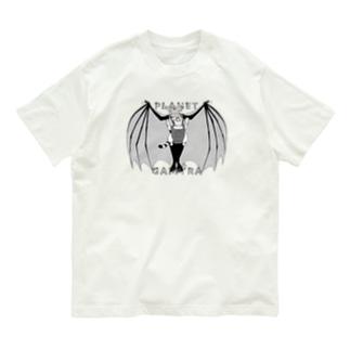 吸血鬼養父&ワータイガーベビー Organic Cotton T-shirts