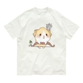 moca's  atelierのあにまるくえすと Organic Cotton T-Shirt
