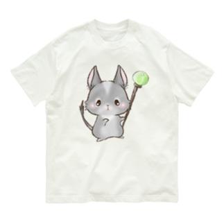 あにまるくえすと Organic Cotton T-Shirt