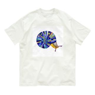 虹のマイマイ Organic Cotton T-Shirt
