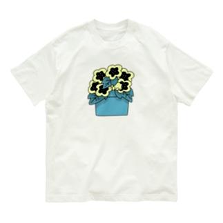 H  yellow Organic Cotton T-shirts