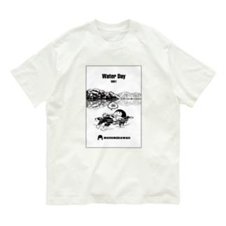 0801「#水の日 」 Organic Cotton T-Shirt