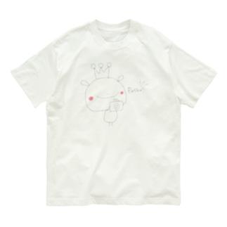 おうさまくんカメラ2 Organic Cotton T-Shirt