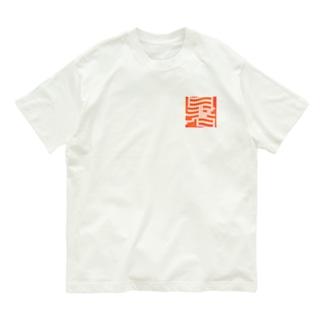 暑っ Organic Cotton T-shirts