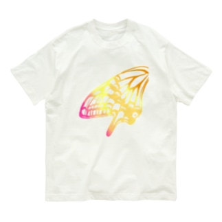 アゲハ・カラフル Organic Cotton T-shirts