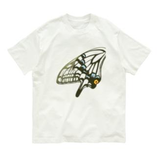 アゲハ・黒 Organic Cotton T-shirts