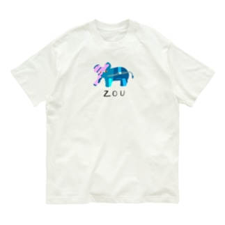 アワジトモミのzou Organic Cotton T-shirts