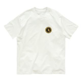 DEVGRU ライオン丸型2(ワンポイント) Organic Cotton T-shirts